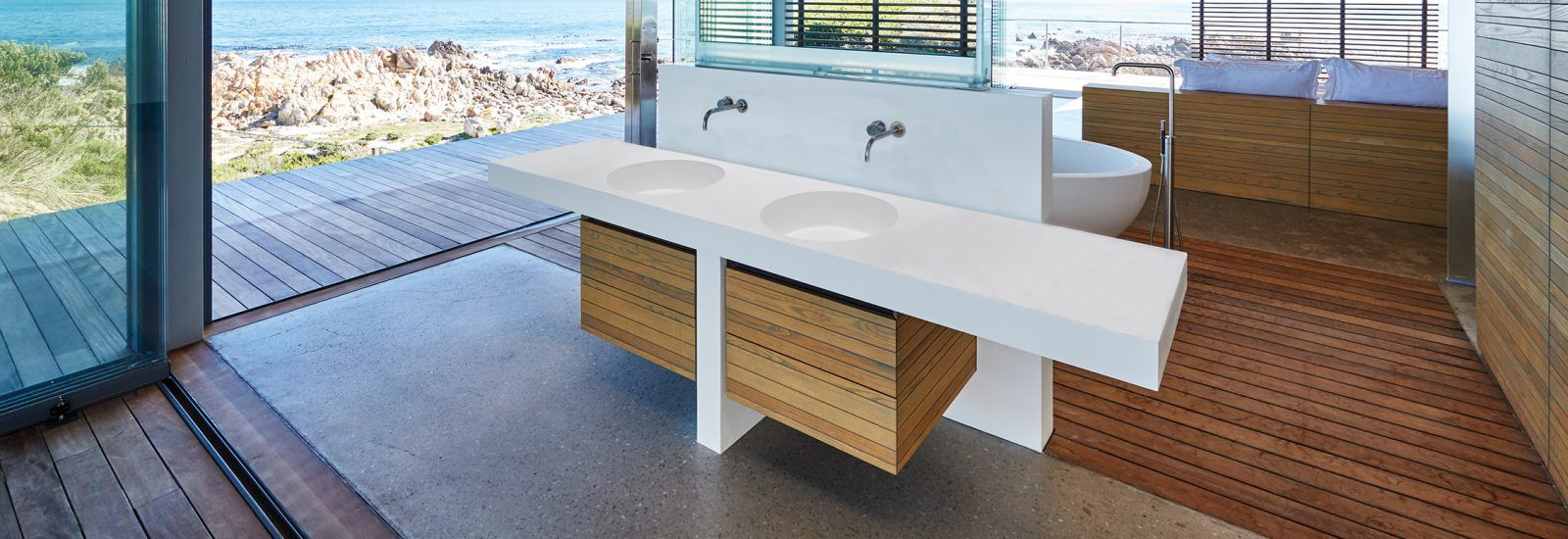 RM Living Cincinnati Modern Bathrooms By MTI MTI3